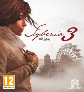 Syberia 3 PC Digital cover