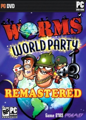 Worms World Party Remastered PC Digital cover