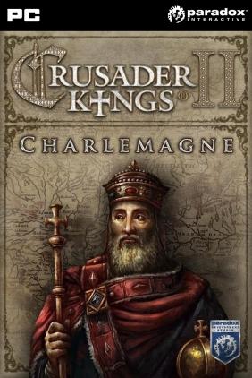 Crusader Kings II: Charlemagne PC Digital cover