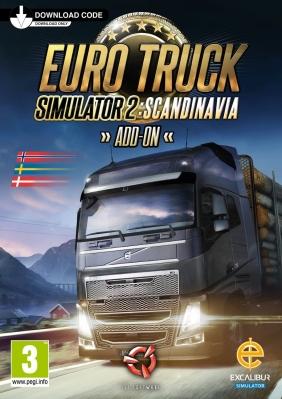 Euro Truck Simulator 2 - Scandinavia Linux cover
