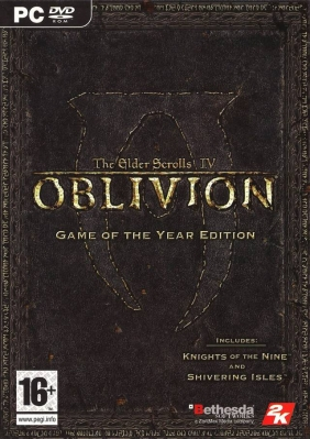 The Elder Scrolls IV: Oblivion - Game of the Year Edition PC Digital cover