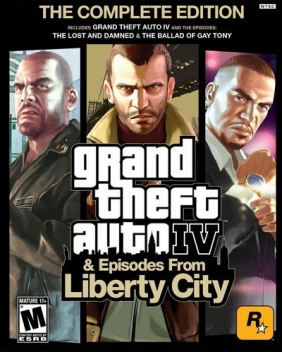 Grand Theft Auto IV: The Complete Edition PC Digital cover