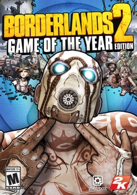 Borderlands 2 Game of the Year Edition Steam Key cover