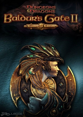 Baldur's Gate II: Enhanced Edition PC Digital cover