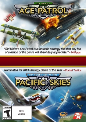 Sid Meier's Ace Patrol Bundle PC Digital cover