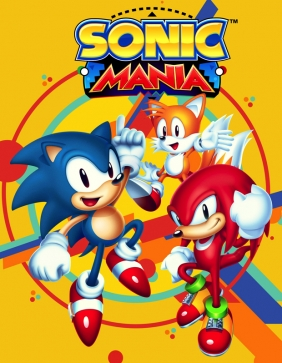 Sonic Mania PC Digital cover