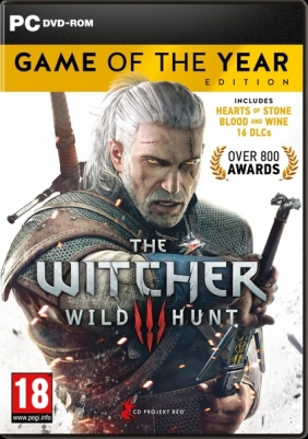 The Witcher 3: Wild Hunt - Game of the Year Edition PC Digital cover