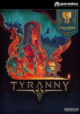 Tyranny - Commander Edition Steam Key cover