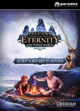 Pillars of Eternity - The White March Expansion Pass  PC  Digital cover