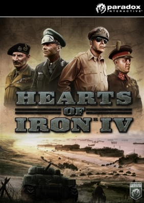 Hearts of Iron IV: Cadet Edition PC/MAC Digital cover
