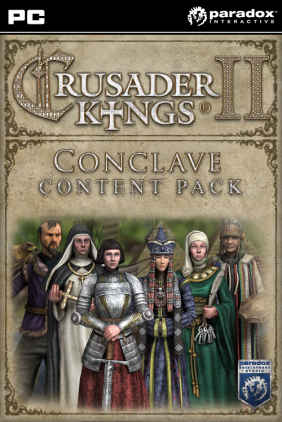Crusader Kings II: Conclave Content Pack PC/MAC Digital cover