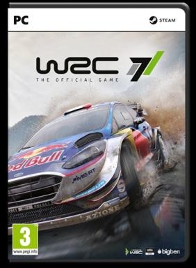WRC 7 FIA World Rally Championship PC Digital cover