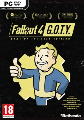 Fallout 4 GOTY Steam Key cover