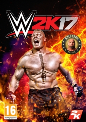 WWE 2K17 PC Digital cover