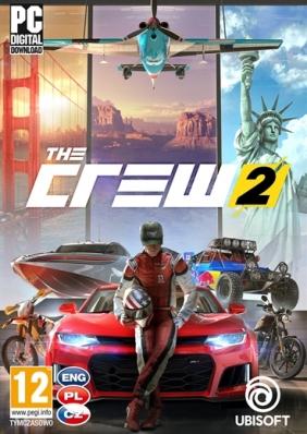 The Crew 2 Pre-Order PC Digital cover