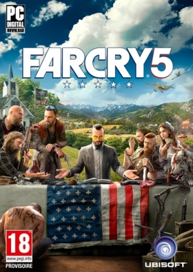 Far Cry 5 Pre-Order PC Digital cover