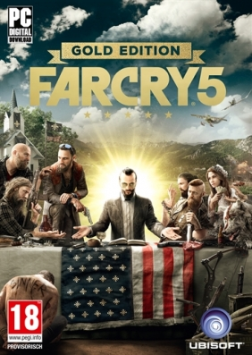 Far Cry 5 - Gold Edition Pre-Order PC Digital cover