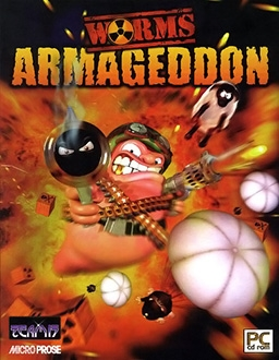 Worms Armageddon PC Digital cover