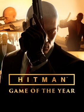 Image result for Hitman Game of The Year Edition cover pc