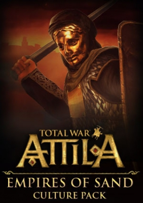 Total War : Attila - Empires of Sand DLC PC/MAC Digital cover