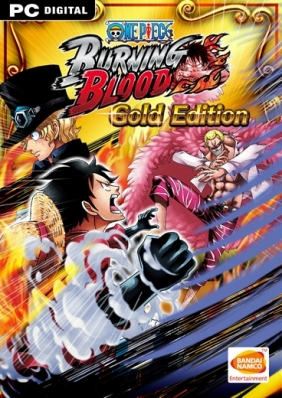 One Piece: Burning Blood - Gold Edition PC digital cover