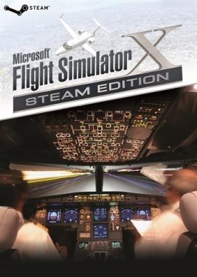 Microsoft Flight Simulator X: Steam Edition PC Digital cover