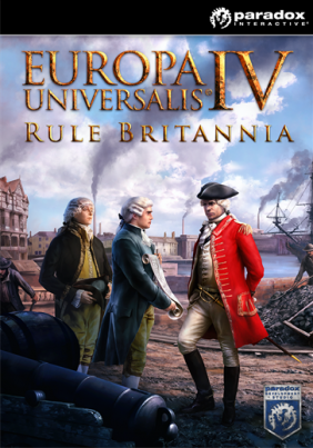 Europa Universalis IV: Rule Britannia PC Digital cover