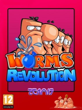 Worms Revolution PC Digital cover