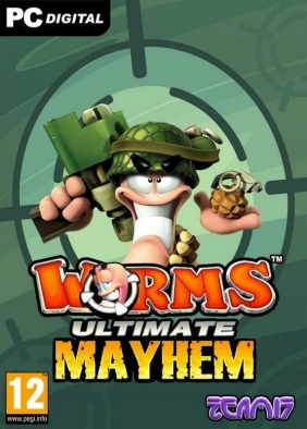 Worms: Ultimate Mayhem PC Digital cover