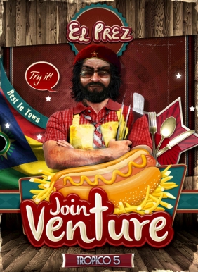 Tropico 5 - Joint Venture Steam Key cover