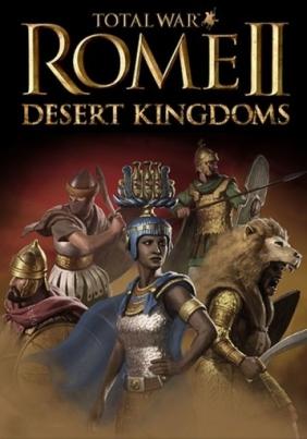 Total War: Rome II – Desert Kingdoms cover