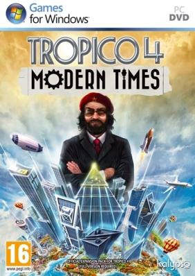 Tropico 4: Modern Times Steam Key cover