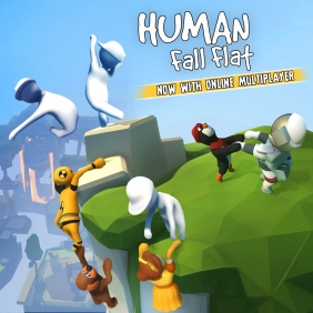 Human: Fall Flat Steam Key cover