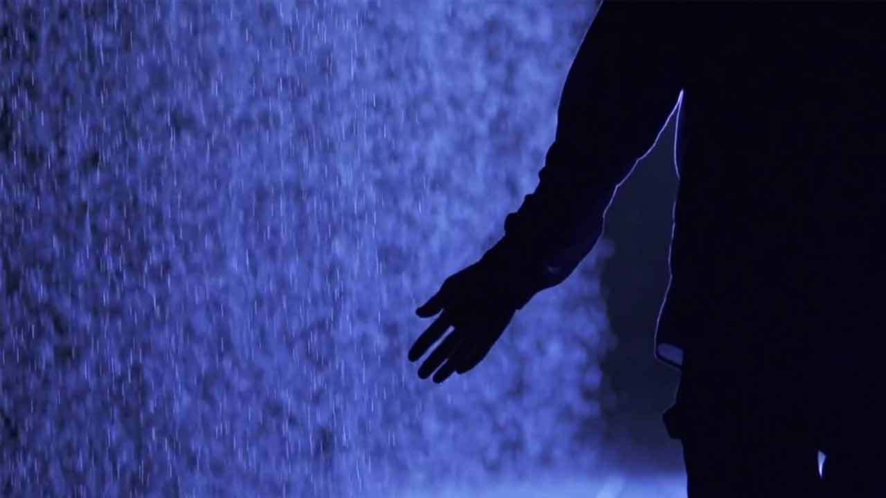 The Rain Room with Music by Max Richter
