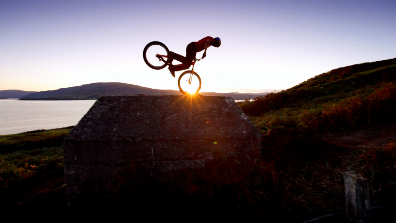 Danny MacAskill Video for Red Bull Way Back Home Branded Content Campaign