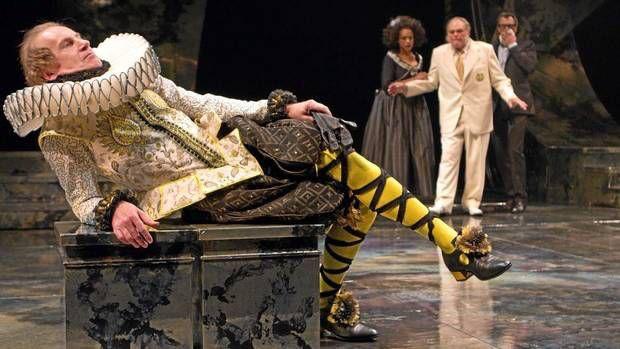 Twelfth Night Scene 1V Olivia's garden