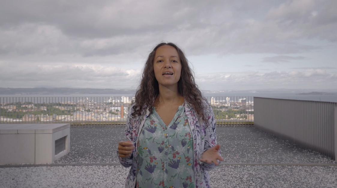 Jeda Pearl, video still, 2021. Videographer Aly Wight.