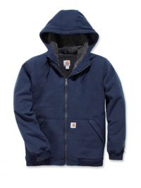 Carhartt 103308 Sherpa Lined Midweight Full Zip Sweatshirt