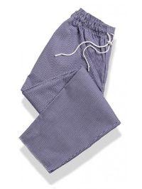 Tibard CT3082-GNG Gingham Drawstring Chef Trouser