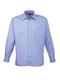 Premier PR200 Mens Long Sleeve Poplin Shirt
