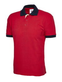 Uneek UC107 Contrast Polo Shirt