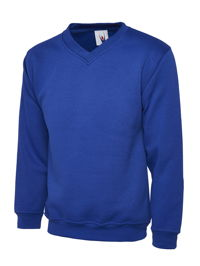 Uneek UC204 Premium V-Neck Sweatshirt