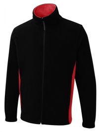 Uneek UC617 Two Tone Full Zip Fleece Jacket