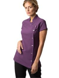 NF990 Alexandra Womans Easycare Wrap Button Tunic