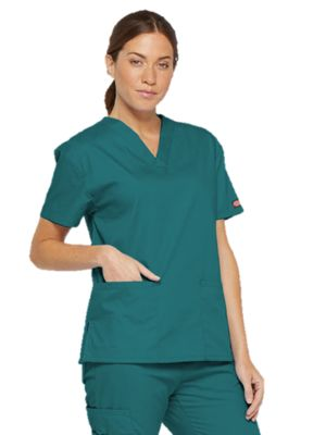 Dickies 86706 Womans V-Neck Top