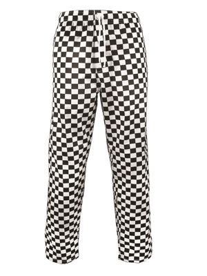 Fusion CCTR1-CB Unisex Black Check Trousers