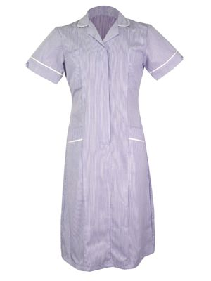 Tulip CHDR1-STR Classic Ladies Step in Striped Dress