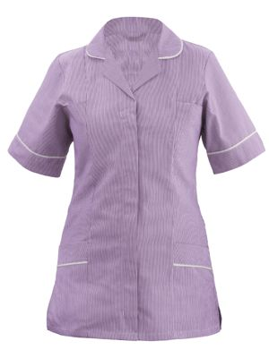 Tulip CHLT1-STR Classic Ladies Striped Tunic