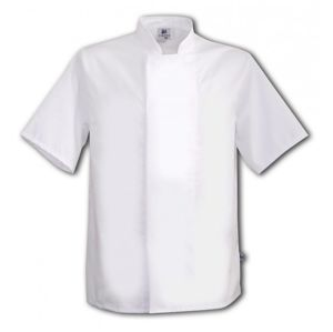 Tibard CICJ0193 Short Sleeve Classic Chefs Jacket