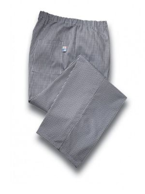 Tibard CT0196-GNG Gingham Chef Trouser